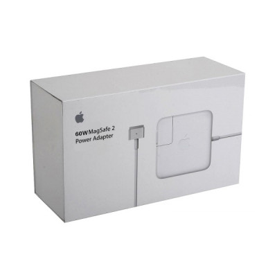 (DS) МЗП для MacBook Apple Magsafe 2 60W (A1435) - білий