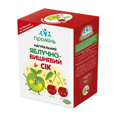 Aspor сок яблочно-вишневый 3л