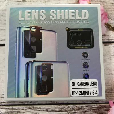 (DL UA) Стекло защитное на камеру 3D LENS SHIELD для iPhone 12 mini 5,4