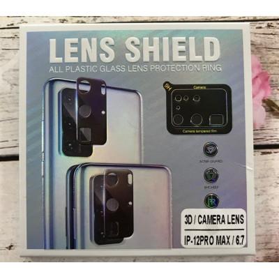 (DL UA) Стекло защитное на камеру 3D LENS SHIELD для iPhone 12 PRO MAX 6,7
