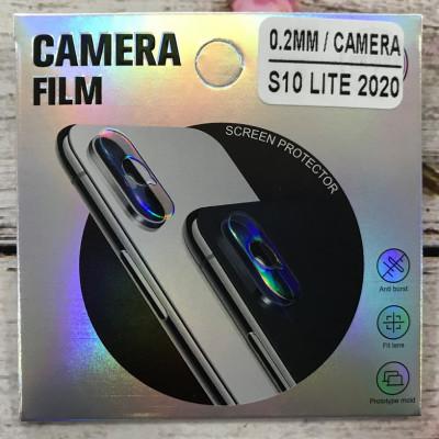 (DL UA) Стекло защитное на камеру для Samsung S10 Lite 2020