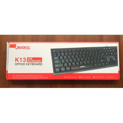 (DL UA) Клавиатура USB Jedel K13