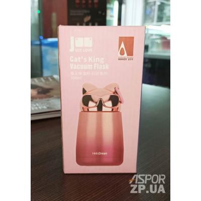Термос 300mL Just-Love J2212- розовый
