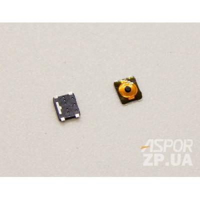 Кнопка универсальная включения/звука для телефона Apple iPhone 4, iPhone 4S; Nokia 5310, 625 Lumia (4*3 мм)