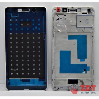 Рамка (средняя часть) для Huawei Honor 6X /GR5 2017 (BLL-L21 BLL-L22 / BLN-L24 BLN-AL10 BLN-L21 BLN-L22) Mate 9 Lite White