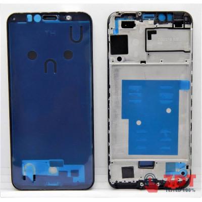 Рамка (средняя часть) для Huawei Honor 7A / Y6 2018/ Y6 Prime 2018 (АТU-L11/ АТU-L21/ АТU-L22/ АТU-LX1/ АТU-LX3/ АТU-L31/ АТU-L42) Black