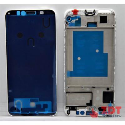Рамка (средняя часть) для Huawei Honor 7A / Y6 2018/ Y6 Prime 2018 (АТU-L11/ АТU-L21/ АТU-L22/ АТU-LX1/ АТU-LX3/ АТU-L31/ АТU-L42) White