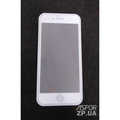(DL UA) Стекло защитное PRIVACY для iPhone 6/6S- белый