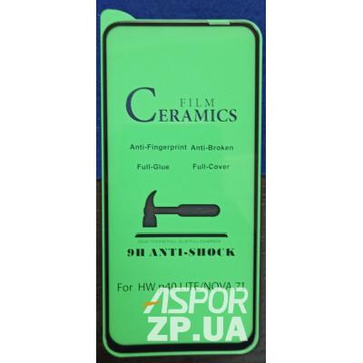 (DL UA) Стекло защитное CERAMiCS для Huawei P40 Lite- черный