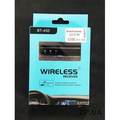 (DL UA) Bluetooth ресивер AUX JS 1804
