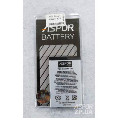 Аккумулятор Aspor для Huawei Y3-II (HB505076RBC)