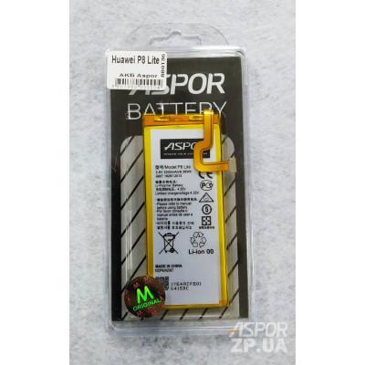 Аккумулятор Aspor для Huawei P8 Lite , GR3 L21 , Y3 (2017) (HB3742A0EZC)