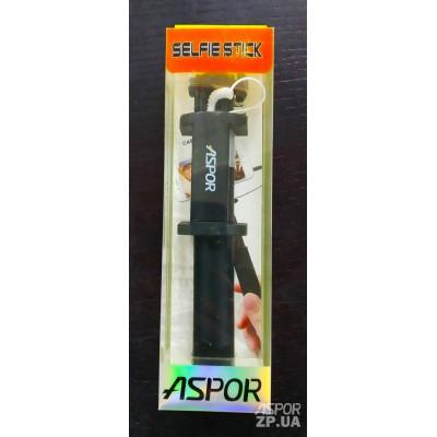 Монопод Aspor K-2 AUX Soft Touch- черный