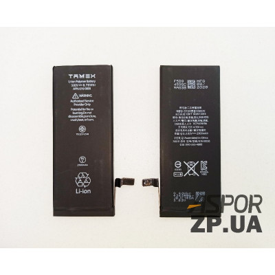 (ZDT) Аккумулятор TAMEX для iPhone 6G 2300 mAh/повышенной емкости