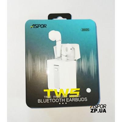 Bluetooth наушники Aspor A605- черный
