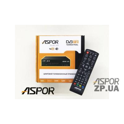 Приемник Aspor T2 (603) для аналогового ТВ- черный